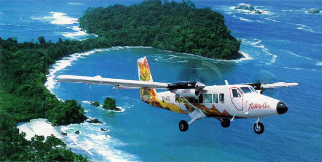 costarica flights backpacking